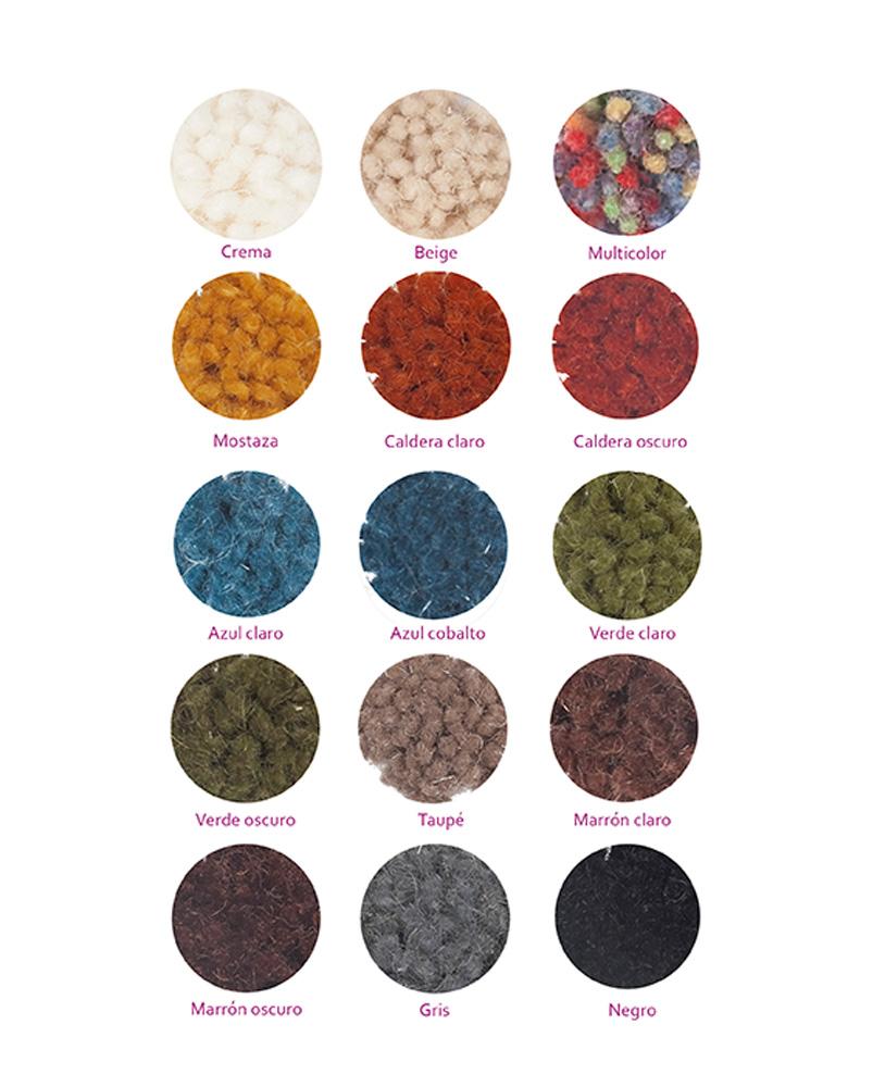 Nuestras alfombras for Alfombra colores