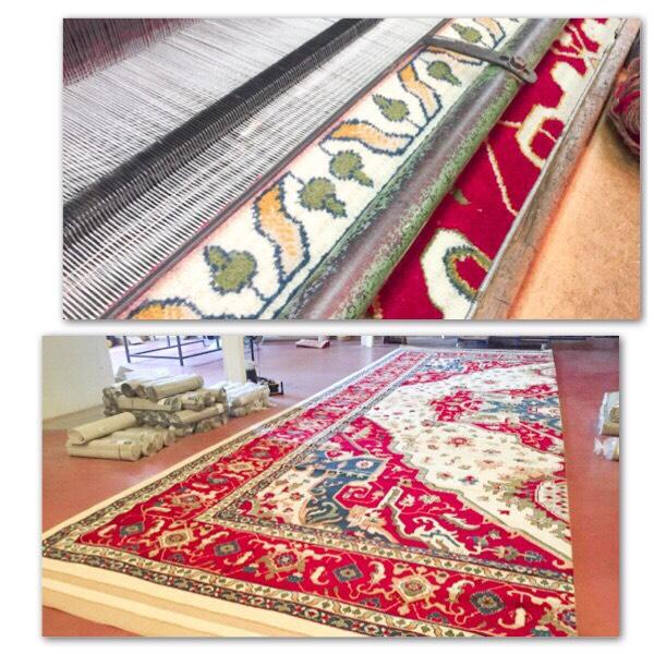 Imágenes de acabado de alfombras grandes